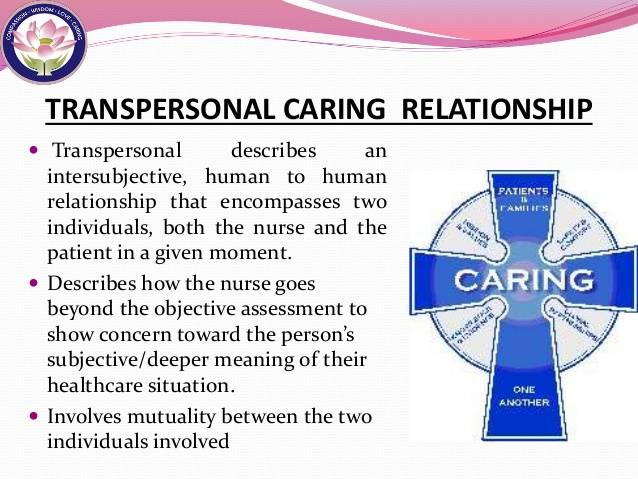Transpersonal Caring Concept writinkservices.com