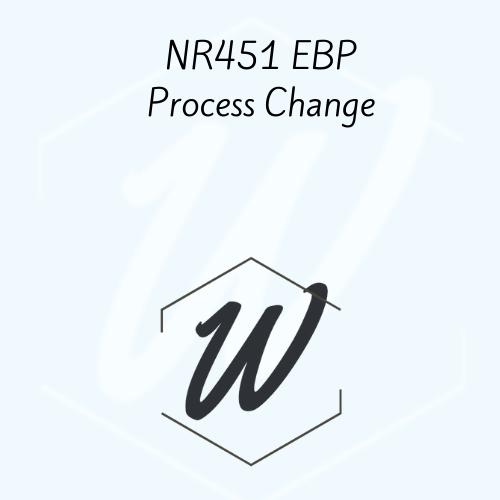 NR451 EBP Process Change